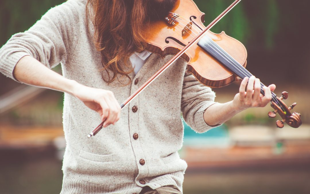Great customer service is like playing the violin